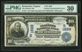 Error Notes:Double Denominations, Richmond, VA - $10/20 Double Denomination Inverted Reverse 1902 Date Back Fr. 617 The Planters NB Ch. # (S)1628. ...