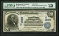 Error Notes:Double Denominations, Richmond, VA - $20/10 Double Denomination Inverted Reverse 1902 Date Back Fr. 643 The Planters NB Ch. # (S)1628. ...