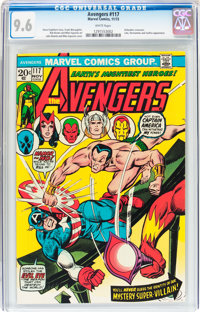 The Avengers #117 (Marvel, 1973) CGC NM+ 9.6 White pages