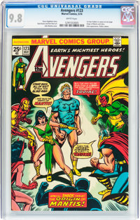The Avengers #123 (Marvel, 1974) CGC NM/MT 9.8 White pages