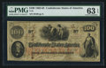 Confederate Notes:1862 Issues, T41 $100 1862 PF-6 Cr. 315.. ...