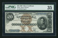 Large Size:Silver Certificates, Fr. 311 $20 1880 Silver Certificate PMG Choice Very Fine 35.. ...