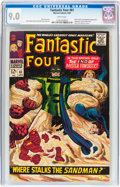 Silver Age (1956-1969):Superhero, Fantastic Four #61 (Marvel, 1967) CGC VF/NM 9.0 White pages....