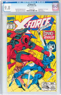 X-Force #11 (Marvel, 1992) CGC NM/MT 9.8 White pages