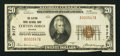 National Bank Notes:Virginia, Clifton Forge, VA - $20 1929 Ty. 1 The Clifton Forge NB Ch. # 9177....