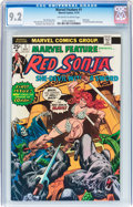 Bronze Age (1970-1979):Adventure, Marvel Feature #1 Red Sonja (Marvel, 1975) CGC NM- 9.2 Off-white to white pages....