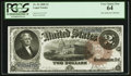 Large Size:Legal Tender Notes, Fr. 54 $2 1880 Legal Tender PCGS Very Choice New 64.. ...