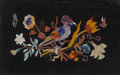 Decorative Arts, Continental:Other , A Set of Four Italian Framed Pietra Dura Panels, 20th century. 16inches high x 22 inches wide (40.6 x 55.9 cm). ... (Total: 4 Items)