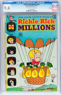 Bronze Age (1970-1979):Humor, Richie Rich Millions #58 File Copy (Harvey, 1973) CGC NM 9.4Off-white to white pages....
