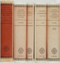 Books:Books about Books, Norman Davis, editor. Group of Five Titles from the OxfordHistory of English Literature. Oxford: At the Clarend...(Total: 5 Items)