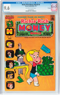 Bronze Age (1970-1979):Humor, Richie Rich Money World #6 File Copy (Harvey, 1973) CGC NM+ 9.6Off-white to white pages....
