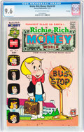 Bronze Age (1970-1979):Cartoon Character, Richie Rich Money World #8 File Copy (Harvey, 1973) CGC NM+ 9.6Off-white to white pages....