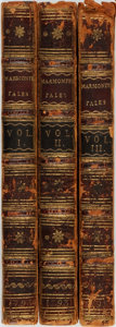 Books:Literature Pre-1900, [Jean-Francois] Marmontel. Three Volumes of Tales by M.Marmontel. Titles include: The Tales of an Evening Fol...(Total: 3 Items)