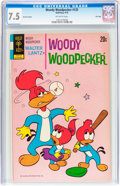 Bronze Age (1970-1979):Cartoon Character, Woody Woodpecker #125 File Copy (Gold Key, 1972) CGC VF- 7.5Off-white pages....