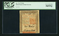 Colonial Notes:Pennsylvania, Pennsylvania April 10, 1775 50s PCGS Choice About New 58PPQ.. ...