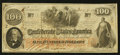 Confederate Notes:1862 Issues, T41 $100 1862 PF-15 Cr. 316.. ...