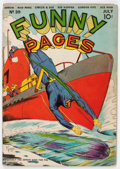 Golden Age (1938-1955):Superhero, Funny Pages #39 (Centaur, 1940) Condition: Apparent GD/VG....
