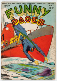 Funny Pages #39 (Centaur, 1940) Condition: Apparent GD/VG