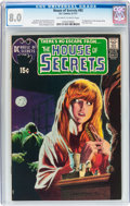 Bronze Age (1970-1979):Horror, House of Secrets #92 (DC, 1971) CGC VF 8.0 Off-white to whitepages....