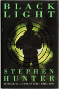 Books:Mystery & Detective Fiction, Stephen Hunter. SIGNED. Black Light. London: Century, [1996]....