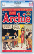 Golden Age (1938-1955):Humor, Archie Comics #46 (Archie, 1950) CGC VG/FN 5.0 Off-white to white pages....