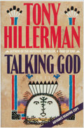 Books:Mystery & Detective Fiction, Tony Hillerman. ADVANCE READING COPY. Talking God. New York:Harper & Row, [1989]....