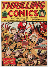 Thrilling Comics #39 (Better Publications, 1943) Condition: VG+