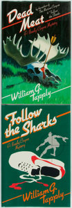 Books:Mystery & Detective Fiction, William G. Tapply. SIGNED/INSCRIBED. Pair from the Brady CoyneMystery Series. Includes: Follow the Sharks... (Total: 2Items)