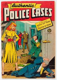 Authentic Police Cases #11 (St. John, 1951) Condition: VG