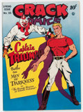 Golden Age (1938-1955):Superhero, Crack Comics #33 Okajima pedigree (Quality, 1944) Condition: FN/VF....
