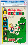 Bronze Age (1970-1979):Humor, Richie Rich Riches #1 File Copy (Harvey, 1972) CGC NM 9.4 Whitepages....