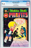 Bronze Age (1970-1979):Humor, Richie Rich Profits #4 File Copy (Harvey, 1975) CGC NM+ 9.6Off-white to white pages....