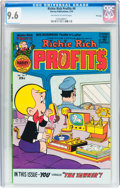 Bronze Age (1970-1979):Cartoon Character, Richie Rich Profits #9 File Copy (Harvey, 1976) CGC NM+ 9.6Off-white to white pages....