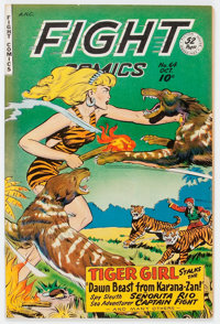 Fight Comics #64 (Fiction House, 1949) Condition: VF/NM