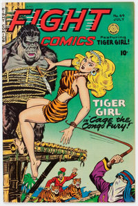 Fight Comics #69 (Fiction House, 1950) Condition: VF/NM