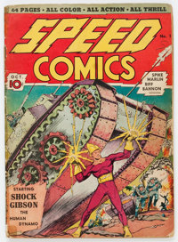 Speed Comics #1 (Harvey, 1939) Condition: FR/GD