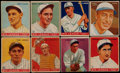 Baseball Cards:Lots, 1933 Goudey Baseball Collection (40) With HoFers! ...