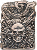 "Movie/TV Memorabilia:Props, An Ornate Zippo Cigarette Lighter from ""The Expendables 2"" and ""TheExpendables 3."". ..."