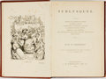 Books:Literature Pre-1900, W. M. Thackeray. Burlesques. Philadelphia: J. B. Lippincott,1872. Cabinet edition. ...