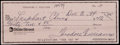 Baseball Collectibles:Others, Ted Williams Signed Check....