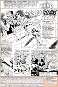 "Original Comic Art:Complete Story, Don Heck Adventure Comics #483 Dial ""H"" for Hero Complete 12-Page Story Original Art (DC, 1981).... (Total: 12 Original Art)"