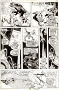 Original Comic Art:Panel Pages, Ross Andru and Al Milgrom Giant-Size Spider-Man #2 Page 22Original Art (Marvel, 1974)....