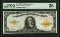 Large Size:Gold Certificates, Fr. 1173 $10 1922 Gold Certificate PMG Choice Very Fine 35.. ...