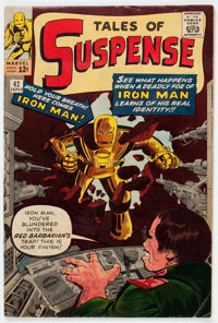 Tales of Suspense #42 (Marvel, 1963) Condition: FN-