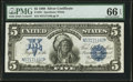 Large Size:Silver Certificates, Fr. 281 $5 1899 Silver Certificate PMG Gem Uncirculated 66 EPQ.....
