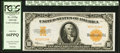 Large Size:Gold Certificates, Fr. 1173a $10 1922 Gold Certificate PCGS Gem New 66PPQ.. ...