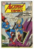Silver Age (1956-1969):Superhero, Action Comics #252 (DC, 1959) Condition: VG+. Origin and first appearance of Supergirl and Metallo. Curt Swan cover. Al Plas...