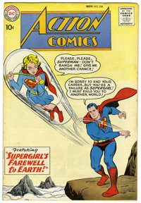 Action Comics #258 (DC, 1959) Condition: FN. Superman and Supergirl appear together on this Curt Swan cover. Wayne Borin...