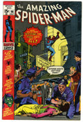 Bronze Age (1970-1979):Superhero, The Amazing Spider-Man #96 (Marvel, 1971) Condition: VF/NM. Drug story not approved by the Comics Code Authority. John Romit...