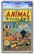 Golden Age (1938-1955):Funny Animal, Animal Fables #7 (EC, 1947) CGC FN 6.0 Cream to off-white pages.Last issue of the funny animal title. Backup feature reprin...
